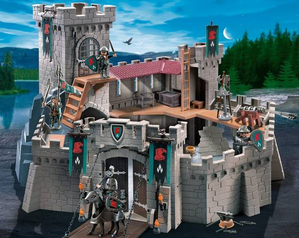 maison playmobil transportable
